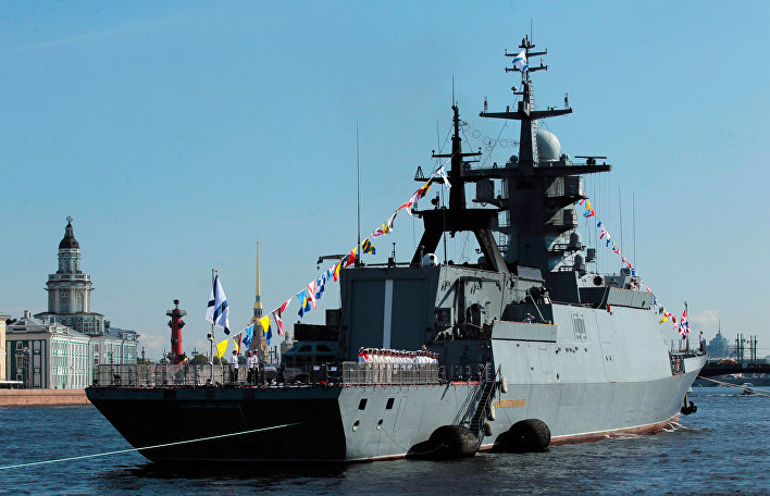 Korveta Soobrazitěľnyj Baltské flotily