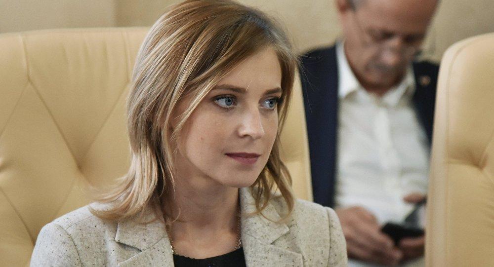 Poslankyně Státní dumy Ruské federace a bývalá prokurátorka Krymské republiky Natalja Poklonskaja