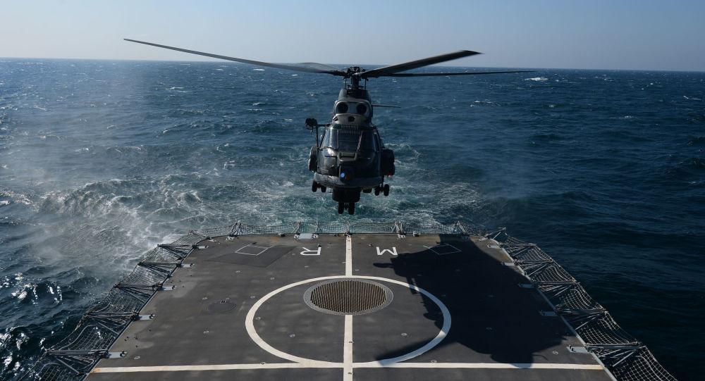 Rumunská fregata Regina Maria v Černém moři