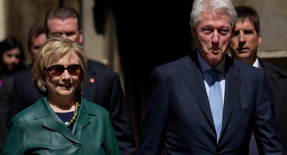 Hillary a Bill Clintonové