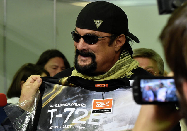 Herec a producent Steven Seagal