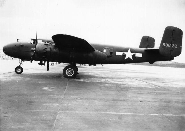 amerikanský bombardér B-25