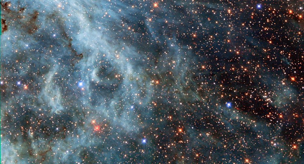 Velký Magellanův oblak je trpasličí galaxie