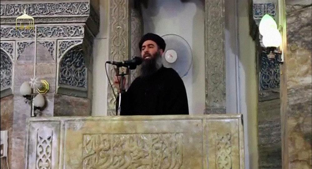 Vůdce teroristické skupiny Islámský stát Abú Bakr al-Bagdadí