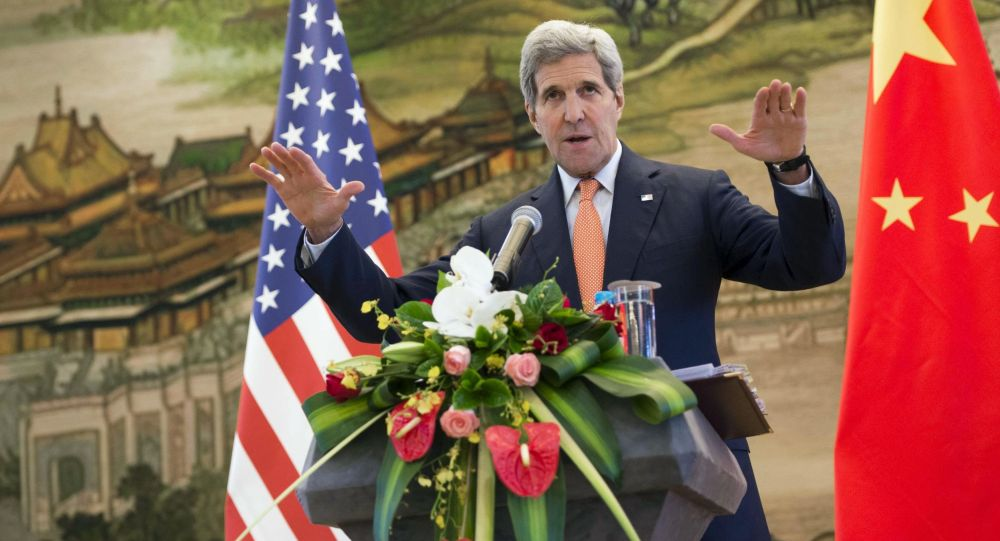 John Kerry v Pekingu