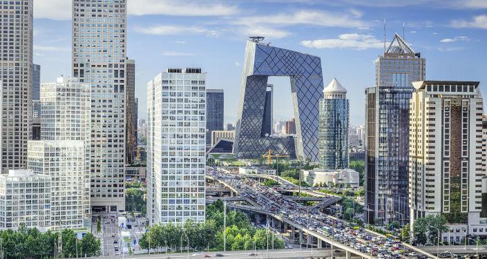 Finanční čtvrť, Peking.