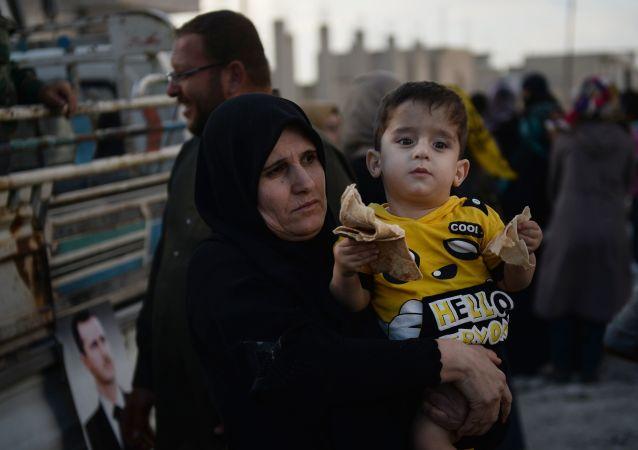 Syrští obyvatelé