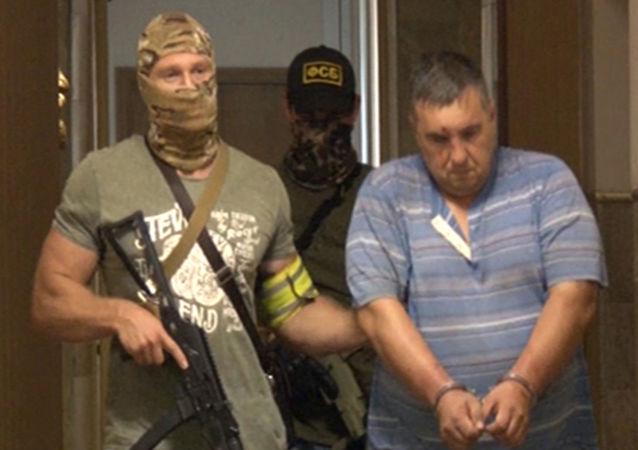 Účastník diverzní a teroristické skupiny MO Ukrajiny v Sevastopolu
