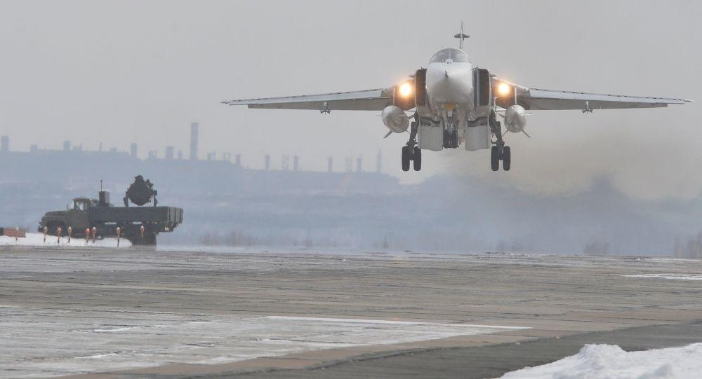 Ruský bombardér Su-24M