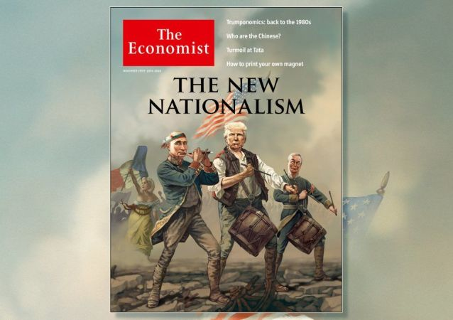 The Economist dal na obálku karikaturu Putina, Trumpa a Le Penové