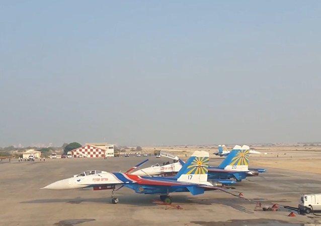 Russkije viťazi na Iran Air Show 2016