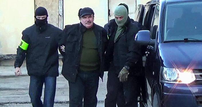 Zadržení Leonida Parchomenka