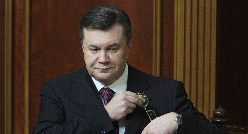 Bývalý ukrajinský prezident Viktor Janukovič