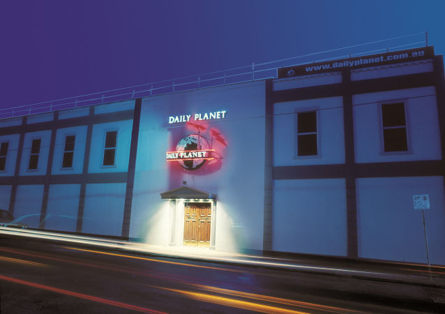 interiéry bordelu  Daily Planet