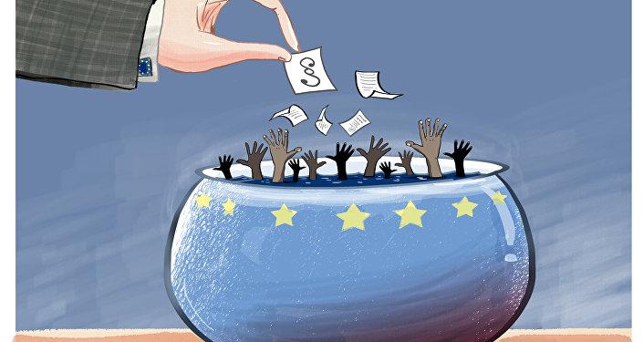 Záchranný kruh pro uprchlíky