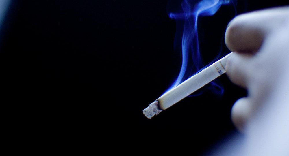 Klasická tabáková cigareta. Ilustrační foto