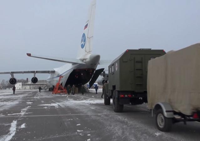 Rusko odesílá do Sýrie mobilní nemocnice pro poskytnutí pomoci obyvatelům Aleppo