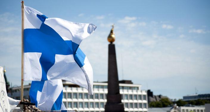 Finská vlajka