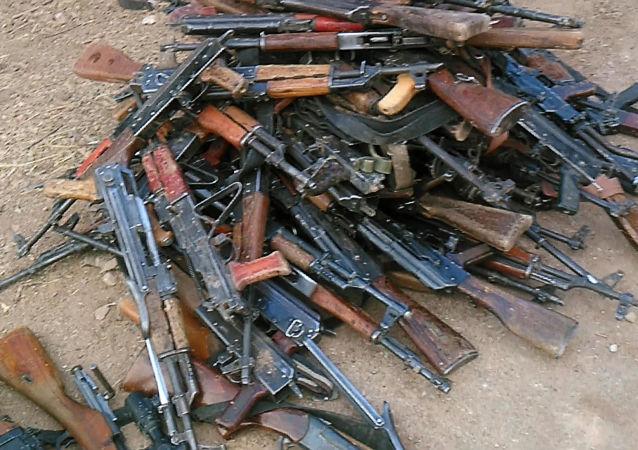 Zbraně a munice bojovníků