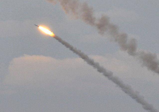 Ukrajinské raketové střelby v blízkosti Krymu