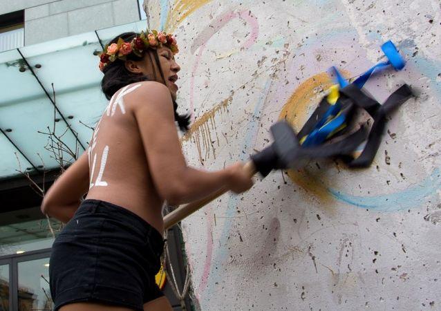 Aktivistka skupiny Femen