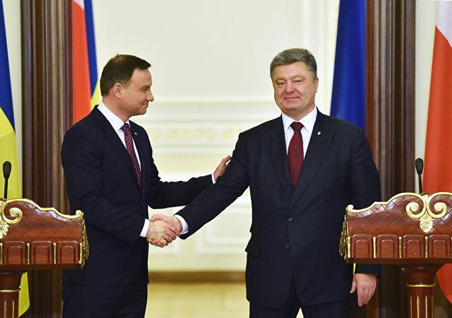 Prezidenti Polska a Ukrajiny