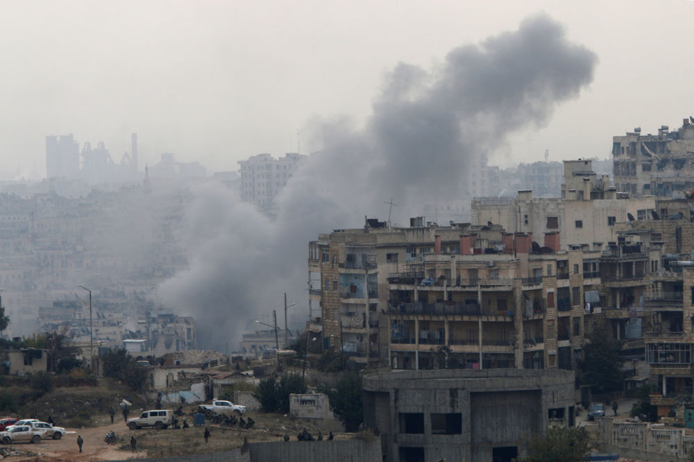 Po ostřelování Aleppa