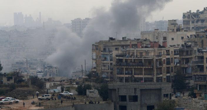 Po ostřelování Aleppa (ilustrační foto)