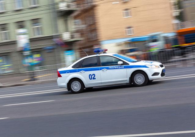 Policie v Moskvě