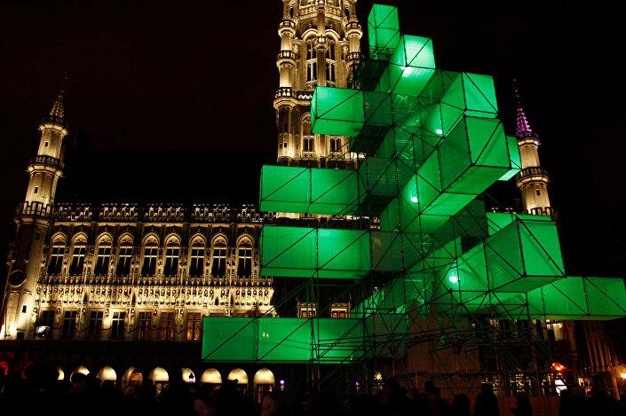 Instalace v Bruselu