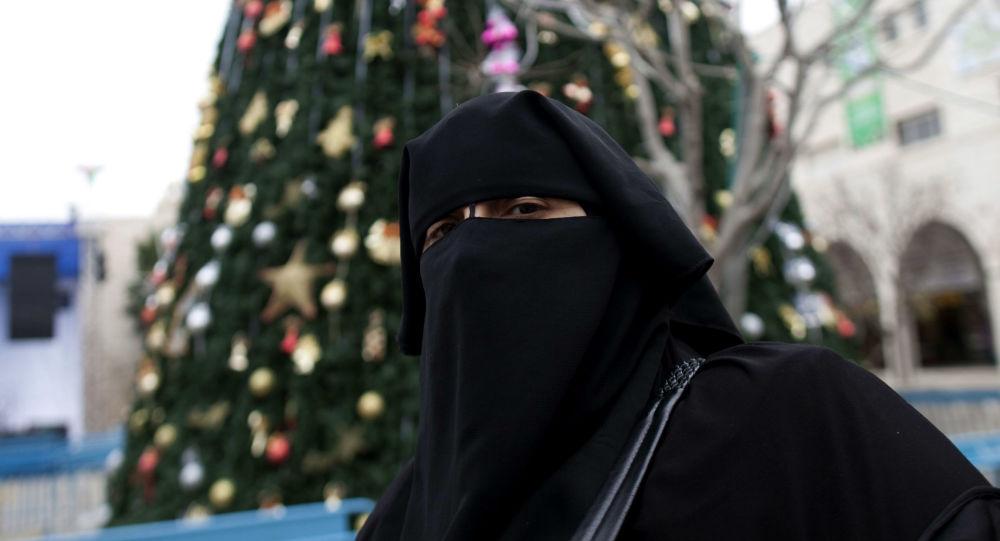 Žena v hidžábu