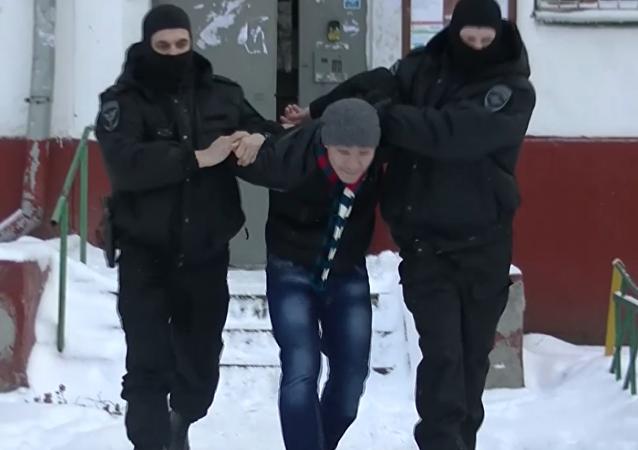 Zadržení 20 podezřelých extrémistů v Moskvě