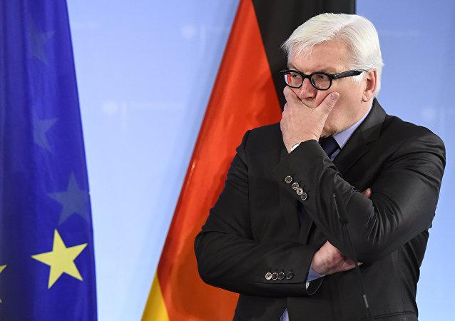 Šéf německého ministerstva zahraničních věcí, předseda OBSE Frank-Walter Steinmeier