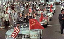 Sovětští kosnonauti v  Washingtonu