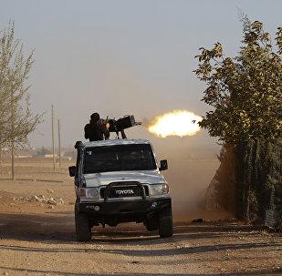 Příslušník syrské opozice