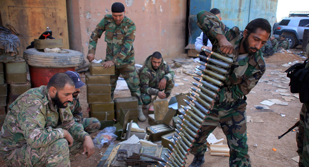 V syrském MZV se vyjádřili k americkému rozhodnutí zrušit zákaz na dodávky zbraní