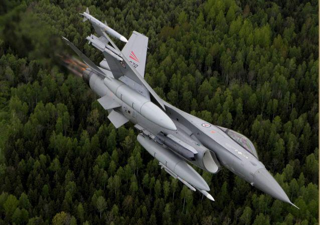 Norská stíhačka F-16