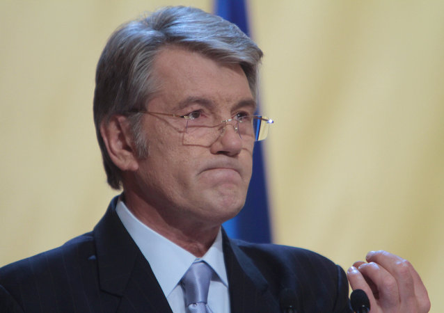 Bývalý prezident Ukrajiny Viktor Juščenko