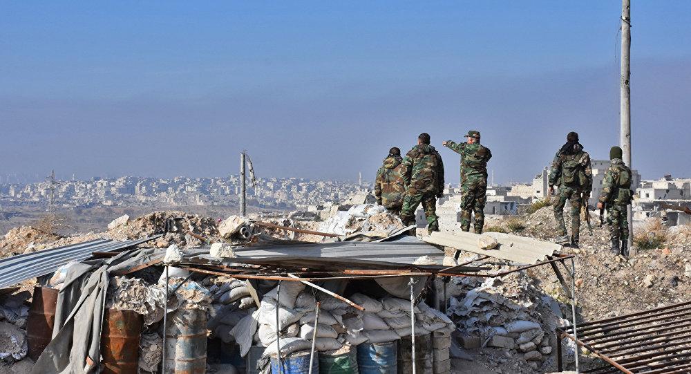 Osvobozené čtvrtě Aleppa