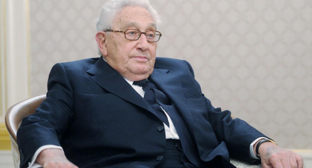 Bývalý ministr zahraničí USA Henry Kissinger