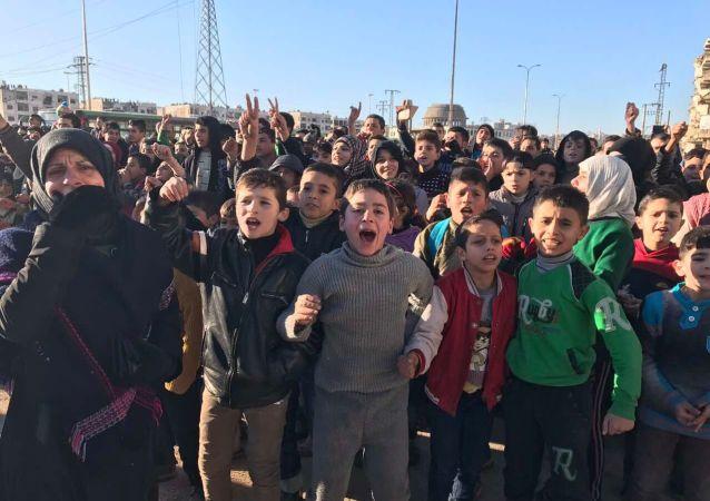 Obyvatelé Aleppu