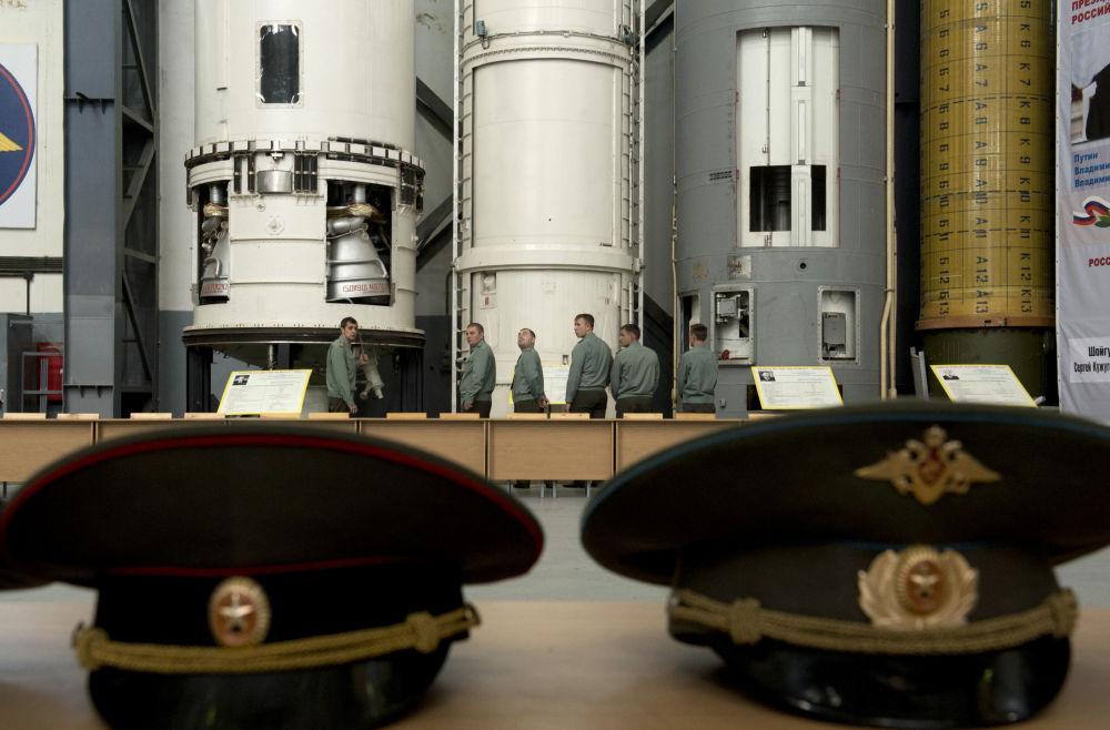 Všední pracovní dny Raketových vojsk strategického určení Ruska