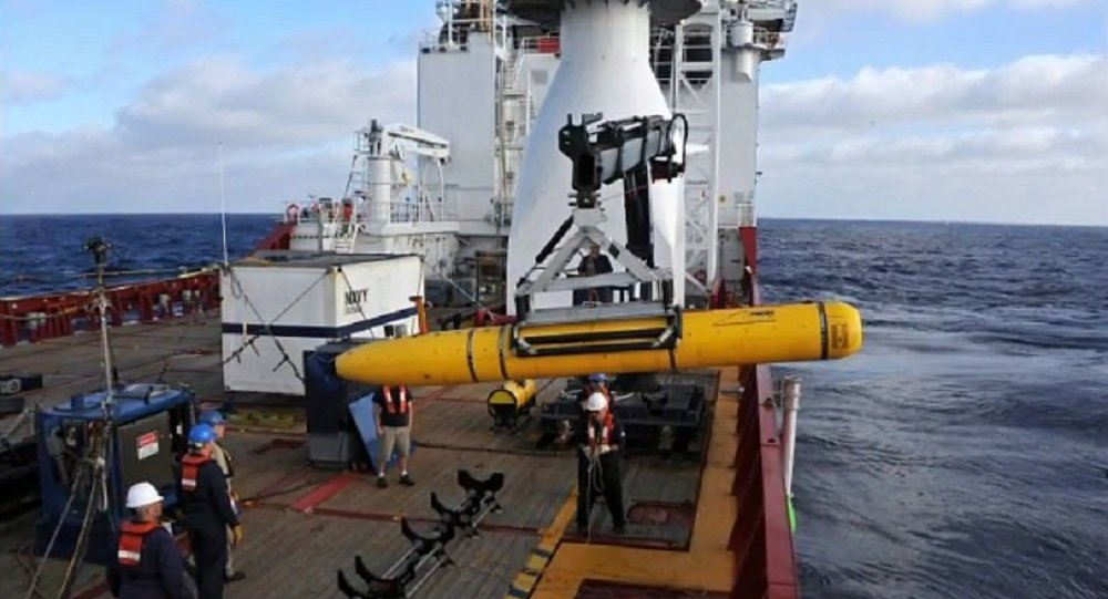 Americký dron zabavený Číňany v Jihočínském moři