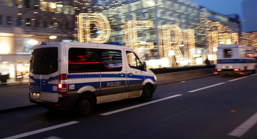 Poliсie in Berlíně. Ilustrační foto