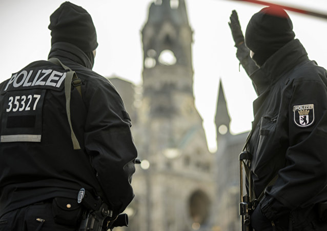 Policisté v Berlíně