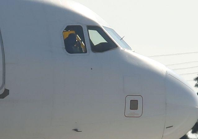 Airbus A320 společnosti Afriqiyah Airways