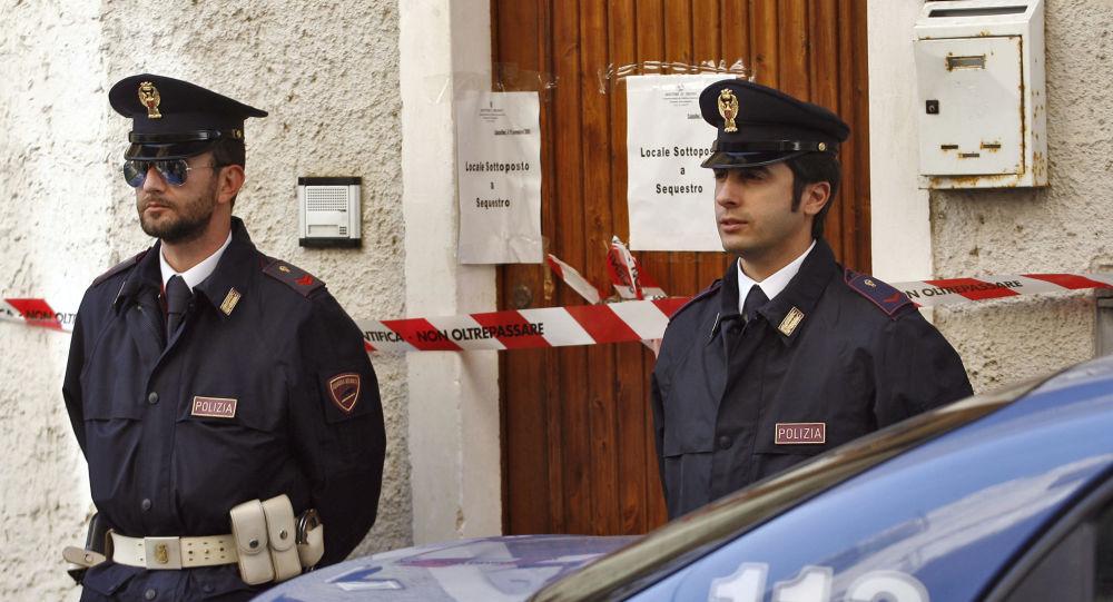 Italští policisté. Ilustrační foto