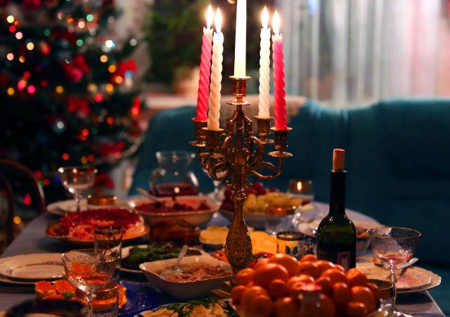 Tradiční novoroční večeře