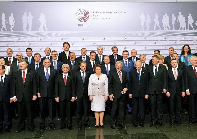 Summit Východního partnerství v Rize
