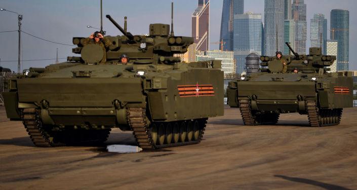 Bitevní vozidla na podvozku Kurganec